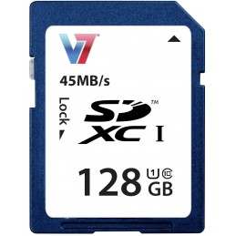 CARTE SD V7 128GB SDXC...