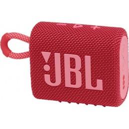 ENCEINTE JBL GO 3 ROUGE