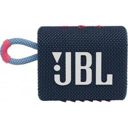 ENCEINTE JBL GO 3 BLEU ROSE