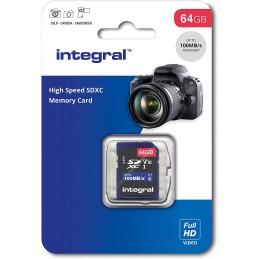 CARTE SD INTEGRAL 64GB...